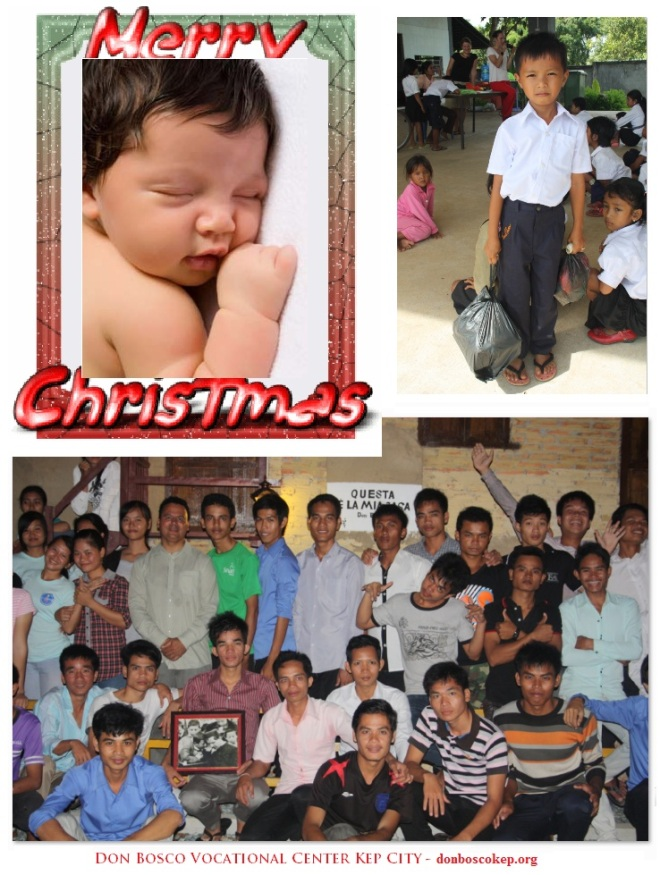 Don Bosco Kep Christmas Card 2012