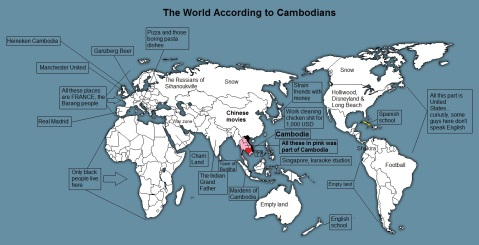 The world according to Cambodians